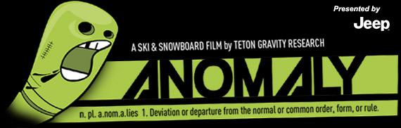 Anomaly, el nuevo film de TGR