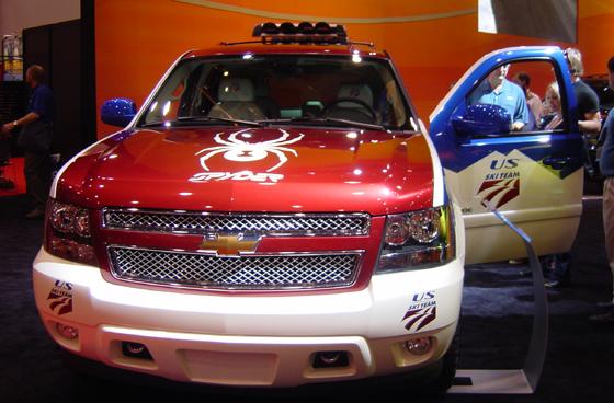 Chevrolet Tahoe: el coche de los equipos norteamericanos