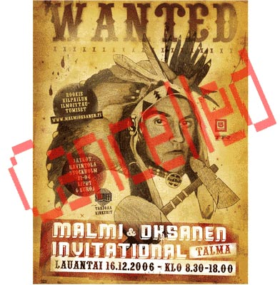 Malmi & Oksanen Invitacional cancelado