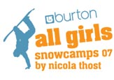 Burton Allgirls Snowcamps