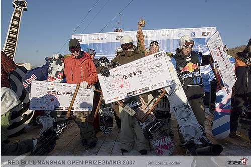 Resultados Red Bull Nanshan Open