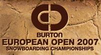 Ya llega el Burton European Open