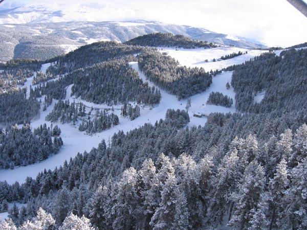 La nieve llega a Masella