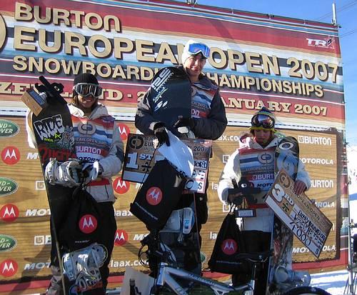 Resultados Burton European Open 07