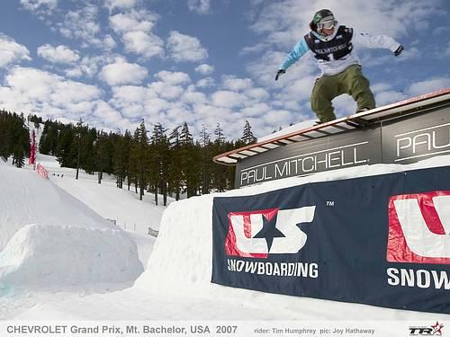 Resumen con los resultados de la 2ª competición del Chevrolet U.S. Snowboard Grand Prix