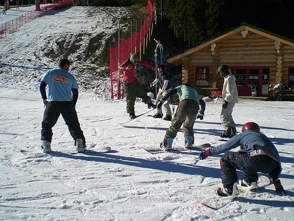 Primer camp de freestyle Ungravityboard-Snowevolution.com del 6 al 8 de abril