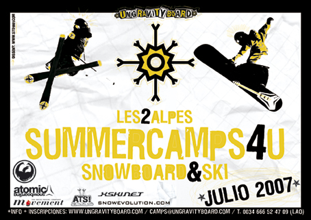 SummerCamp Ungravityboard-SnowEvolution