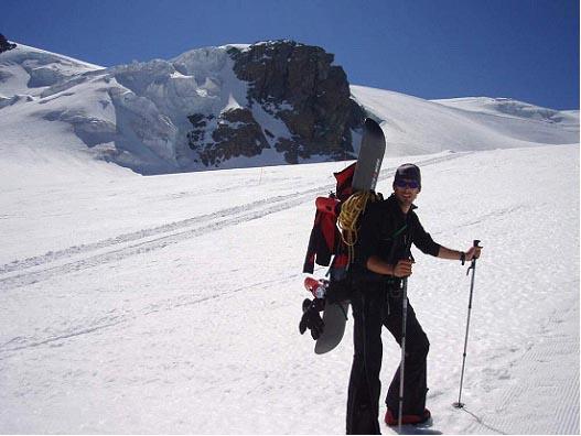 Xabi nos relata la subida con Pocket de esta montaña de más de 4000 mts de los Alpes suizos