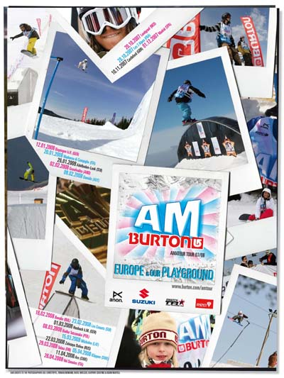 Burton AM Tour en el Madrid SnowZone
