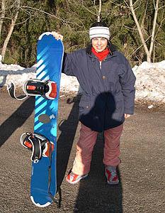 Experiencias en mi primer curso de snowboard III