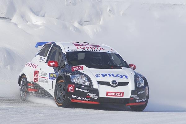 Trofeo Andros: coches sobre nieve