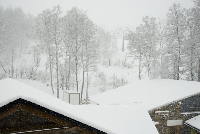 Fotos de la gran nevada en Cerler
