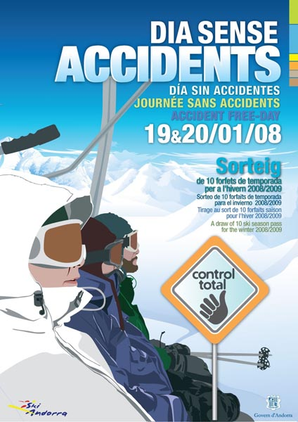 Día sin accidentes en Andorra