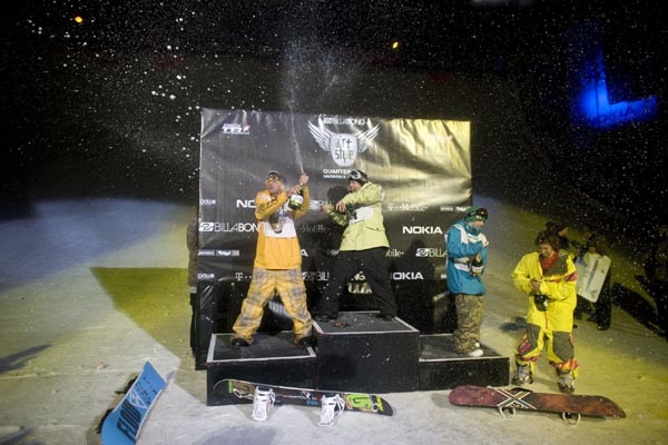 Resultados en el Billabong Air & Style