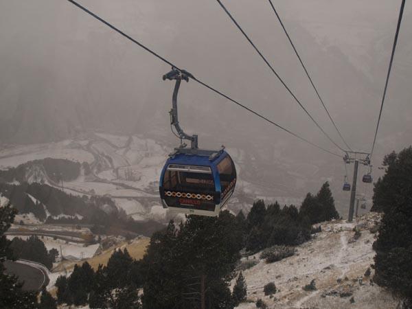 Vuelven las nevadas a Grandvalira de cara a un fin de semana con bastantes actividades