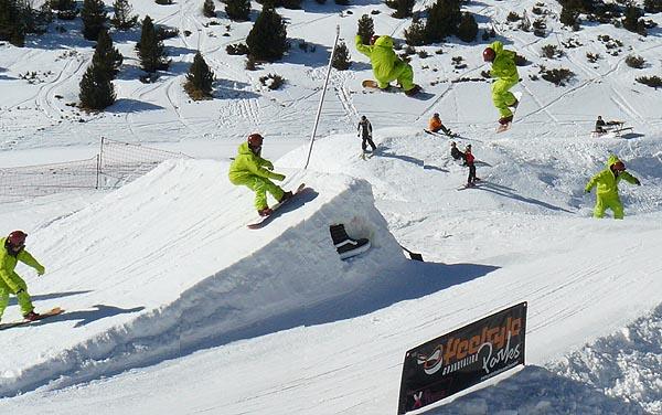 SnowPark el Tarter 08
