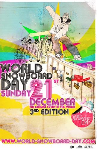 Avance del World Snowboard Day