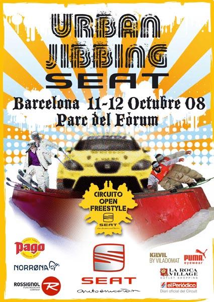 Prueba de Jibbing en Barcelona el próximo 11 y 12 de octubre