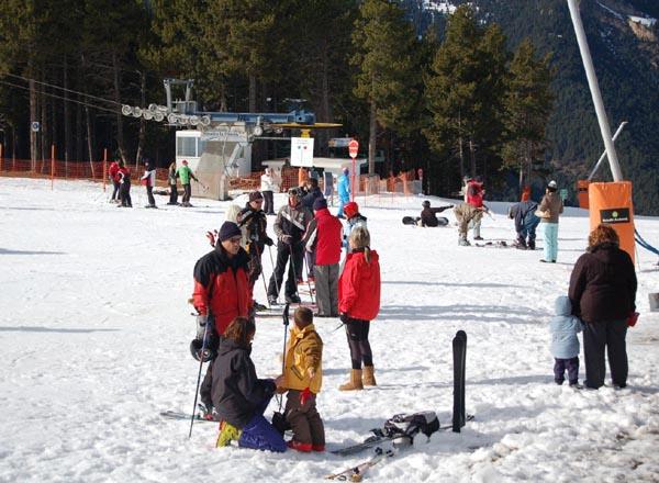 6000 esquiadores en Vallnord este fin de semana