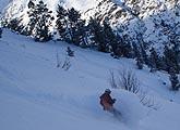 Disfrutamos de una pletórica jornada de powder en la estación más alpina de los Pirineos