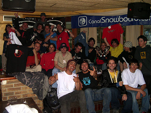2Alpes Vans Canalsnowboard Camp 2004