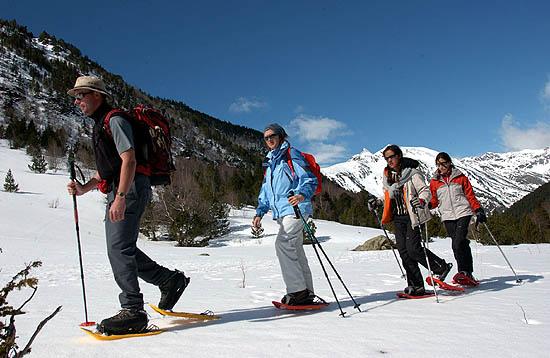 Raquetas de nieve en Ordino - Arcalis