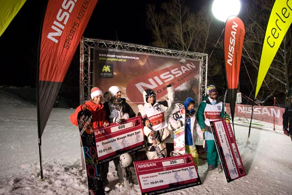 Resultados Nissan Freestyle Night Tour