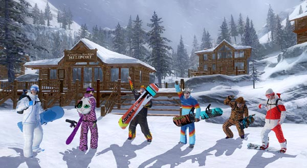 Nuevo contenido, glamour pack, descargable para este videojuego de snowboard